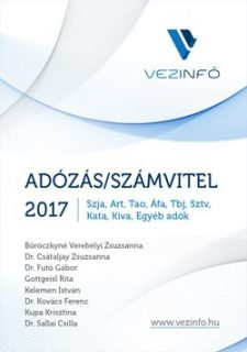 Adózás/Számvitel 2017