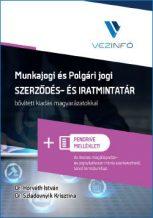 Munkajogi és Polgári jogi Szerződés- és Iratmintatár (Könyv + Pendrive)