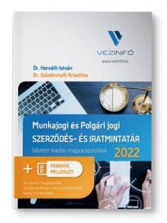 Munkajogi és Polgári jogi Szerződés- és Iratmintatár 2021 (Könyv + Pendrive)